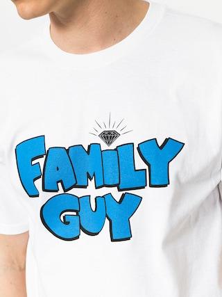 Tričko Diamond Supply Co. Family Guy (white)