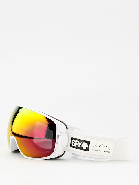 Okuliare na snowboard Spy Bravo (essential white happy gray green w/red spectra happy yellow w/lucid green)