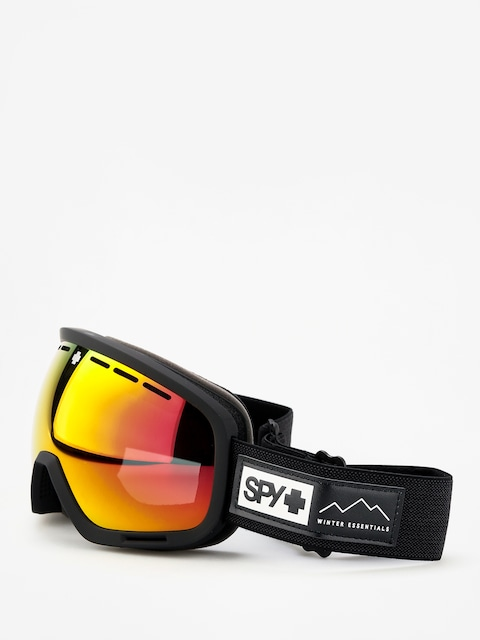 Okuliare na snowboard Spy Marshall (essential black happy gray green w/red spectra happy yellow w/lucid green)