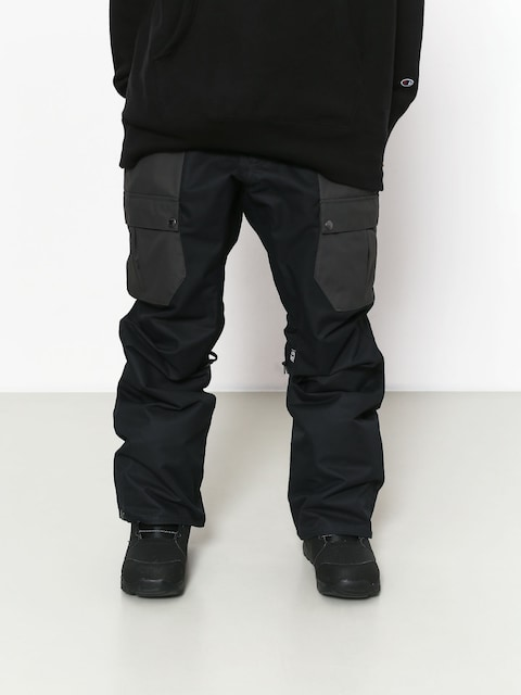 Snowboardové nohavice Airblaster Freedom Cargo (black)