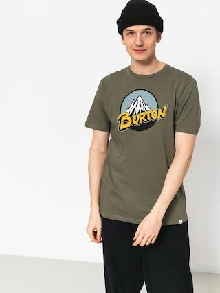 Tričko Burton Retro Mtn (dusty olive)