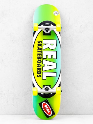 Skateboard Real Fades (yellow/green)
