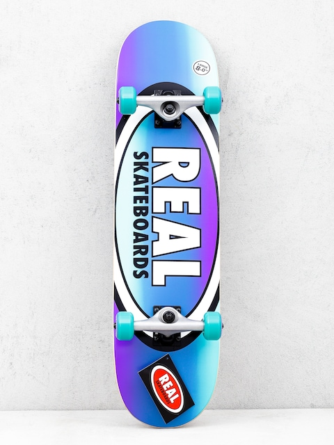 Skateboard Real Fades (purple/teal)