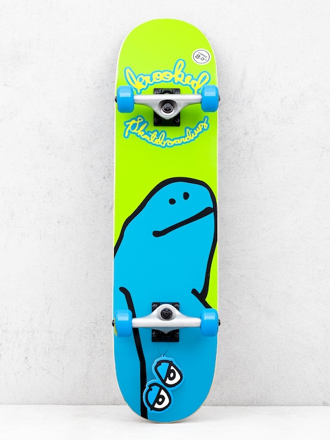 Skateboard Krooked Team Shmoo (green/blue)