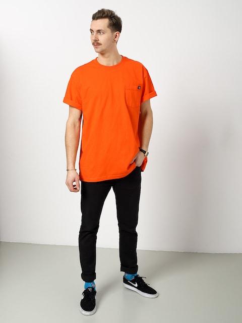 Tričko Dickies Pocket (orange)