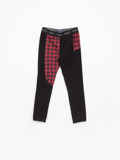 Termolegíny Majesty Srface Lady Pants Lumberjack Wmn (red/black)