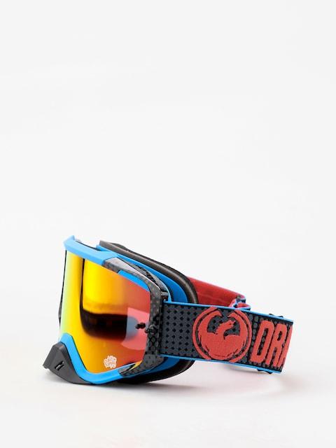 Okuliare na snowboard Dragon MXV MAX (nateadams/lumalens red ion clear)