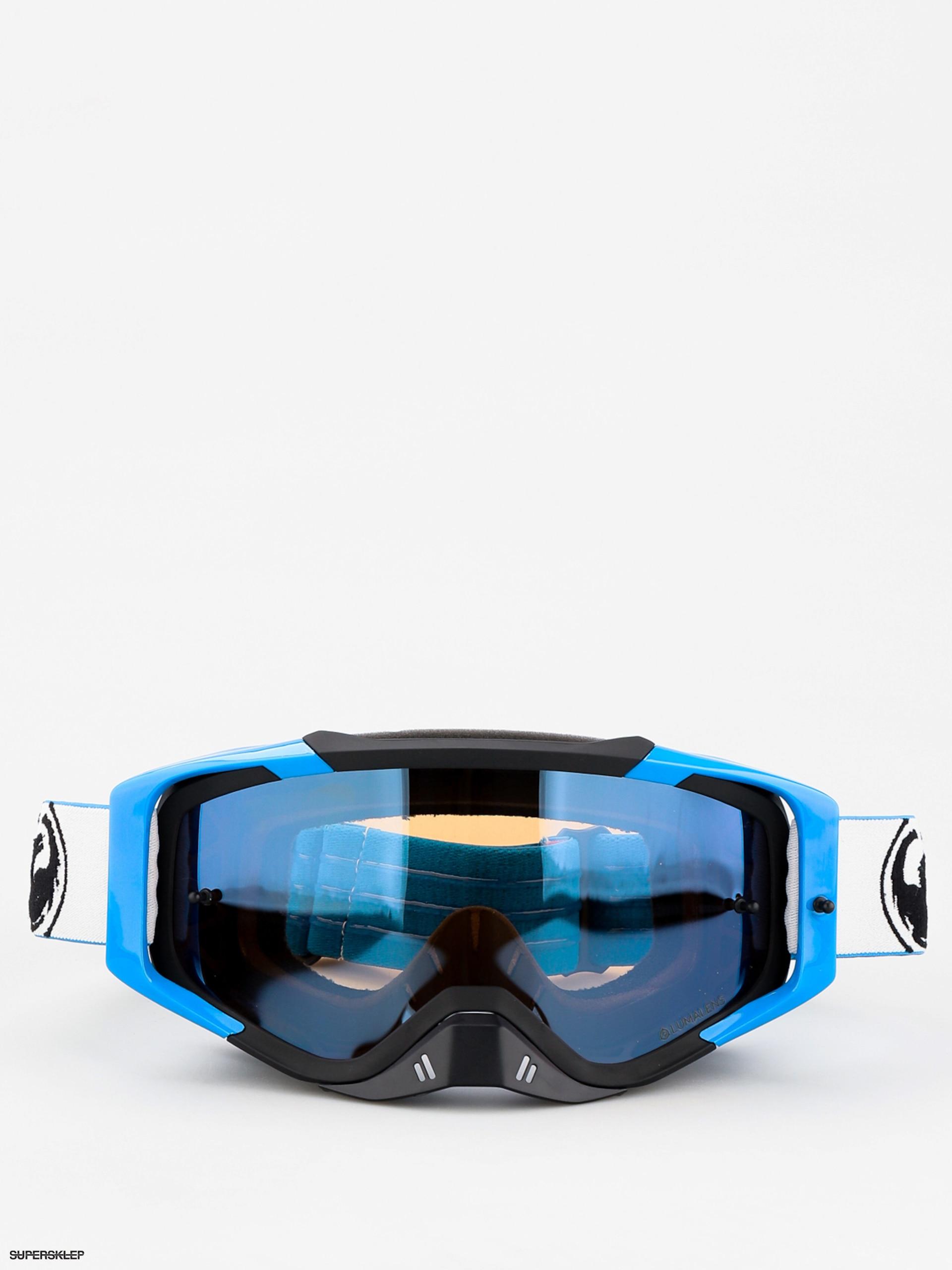 bf68b2ae3 Okuliare na snowboard Dragon MXV MAX (factory/lumalens flash blue clear)
