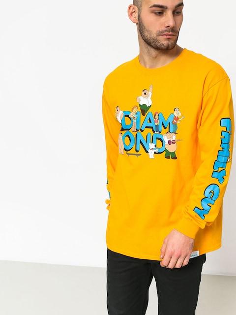 Triko Diamond Supply Co. Diamond X Family Guy (yellow)