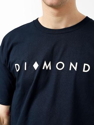 Tričko Diamond Supply Co. Marquise (navy)