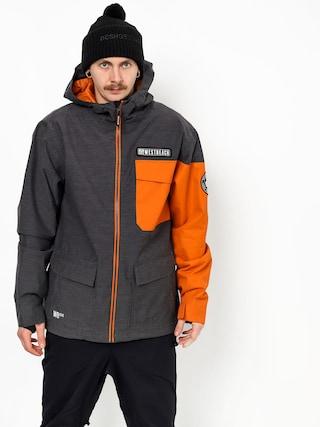 Snowboardovu00e1 bunda Westbeach Bantam (charcal marl)