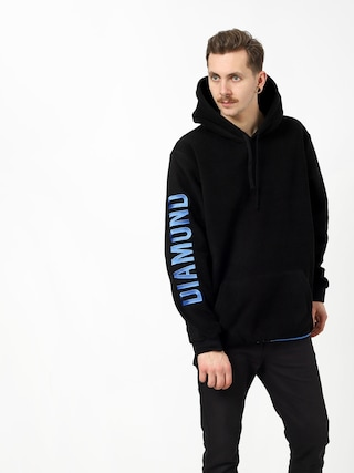 Mikina s kapucňou Diamond Supply Co. Polar HD (black)