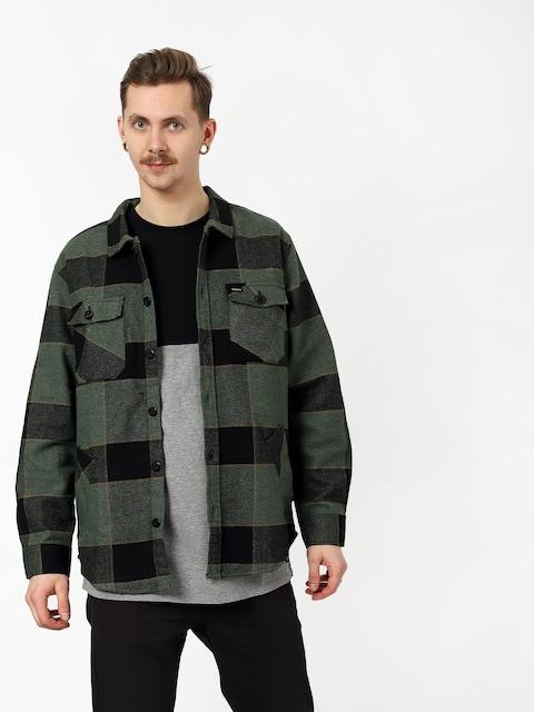 Košeľa Brixton Durham Flannel Ls (pine/black)