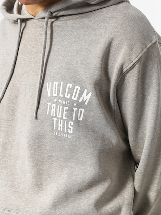 Mikina s kapucňou Volcom True To This HD (hgr)
