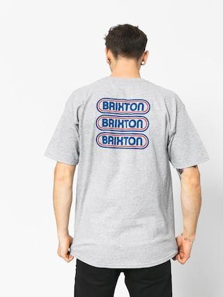 Tričko Brixton Astro Stt (heather grey)