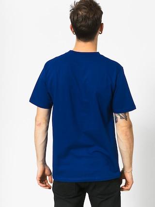 Tričko Koka Clarity Boxlogo (navy)