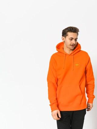 Mikina s kapucňou Koka Fake Ball HD (orange)