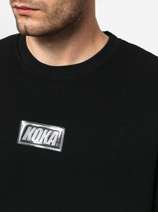 Mikina Koka Clarity Boxlogo (black)