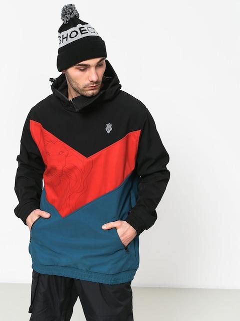 Snowboardová bunda Majesty Shadow Lion (black/red/blue)