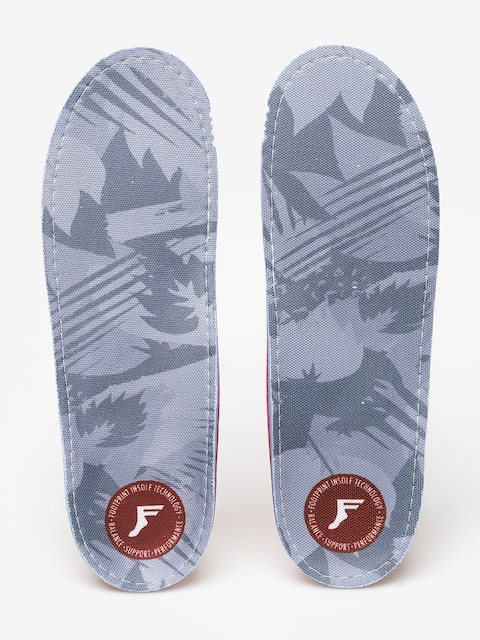 Vložky do topánok Footprint Gamechanger (light grey camo)