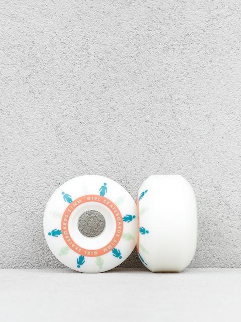 Kolieska Skateboard Girl Mirage Staple (white/blue)