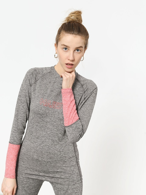Spodné prádlo Majesty Cover Lady Top Base Layer Wmn (grey/pink)
