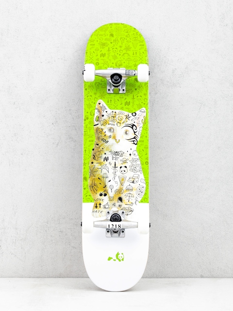 Skateboard Enjoi Kitten (green)