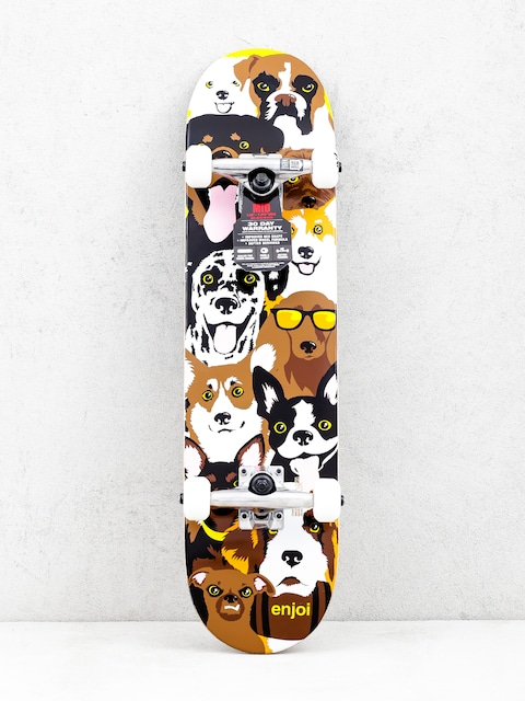 Skateboard Enjoi Dog Collage Yth (multi)