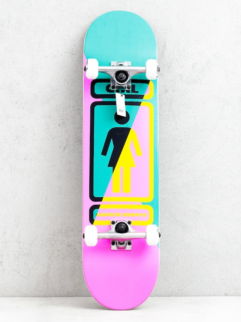 Skateboard Girl Skateboard Brophy 93 Til (pink/green)