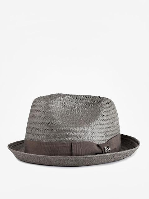 Klobúk Brixton Castor Fedora (grey)