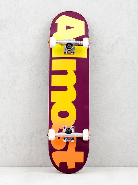 Skateboard Almost Straight Faded (maroon)