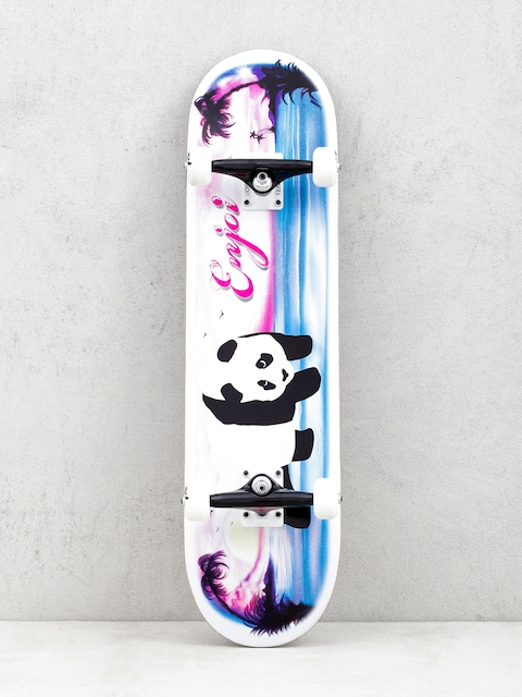 Skateboard Enjoi Tropical Airbrush Panda (white/pink/blue)