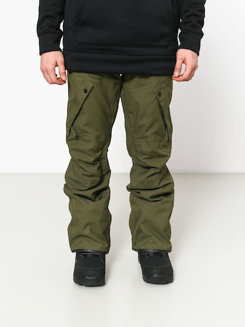 Snowboardové nohavice Volcom Articulated (mil)