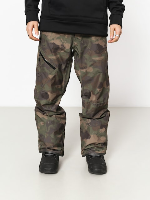 Snowboardové nohavice Volcom L Gore Tex (cam)