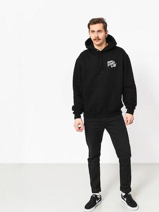 Mikina s kapucňou Polar Skate Angry Stoner HD (black)