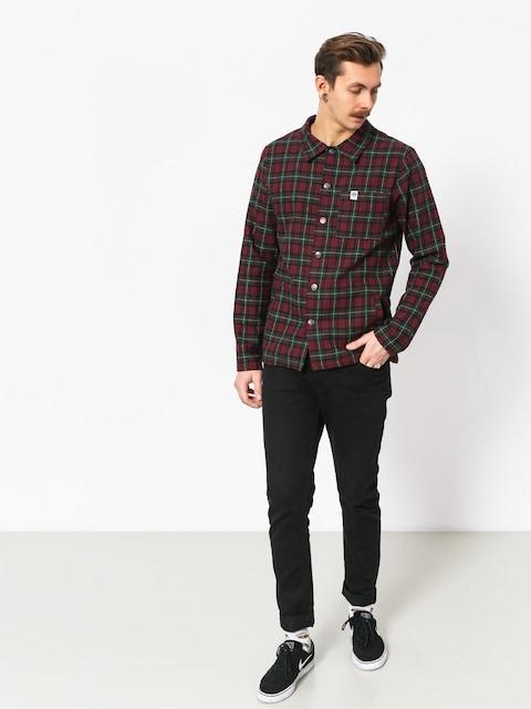 Košeľa The Hive Flannel Overshirt