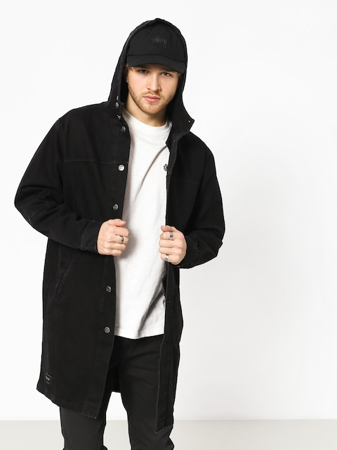 Bunda The Hive Denim Parka Coat (black)