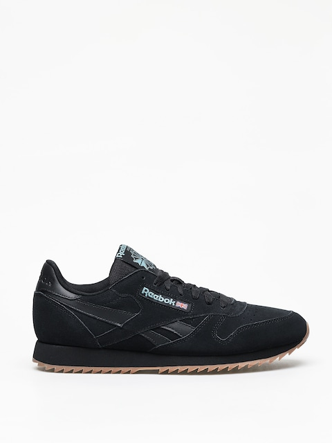 Topánky Reebok Cl Leather Mu (black/mineral mist/l)