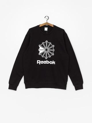 Mikina Reebok Ac Ft Big Starcrest Crew (black/white)