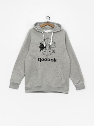 Mikina s kapucňou Reebok C Big Logo HD (mgreyh)