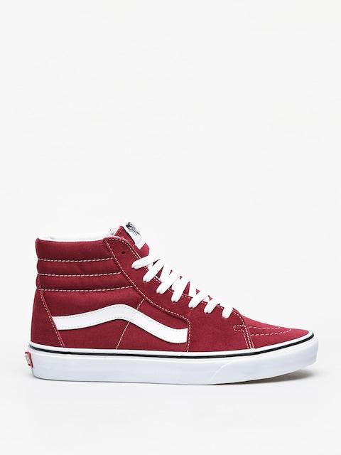 Topánky Vans Sk8 Hi (rumba red/true white)