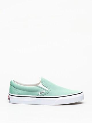 Topánky Vans Classic Slip On (neptune green)