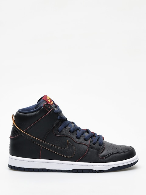 Topánky Nike SB Dunk High Pro Nba (black/black college navy team red)