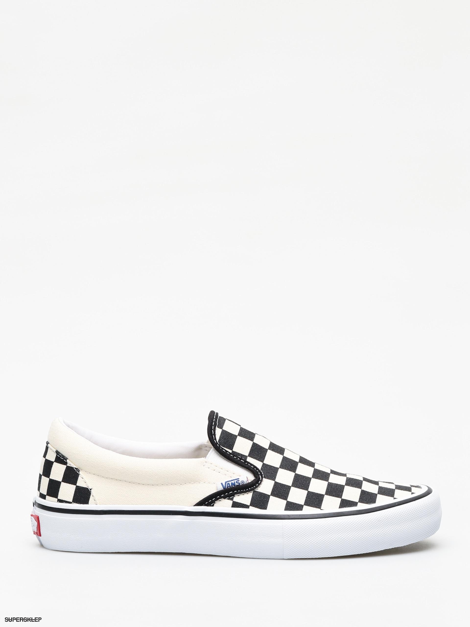 287bb6d952 Topánky Vans Slip On Pro (checkerboard black white)