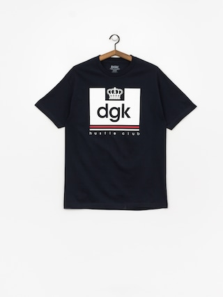 Tričko DGK Hustle Club (navy)