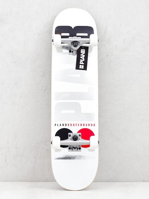Skateboard Plan B Team Og (white)
