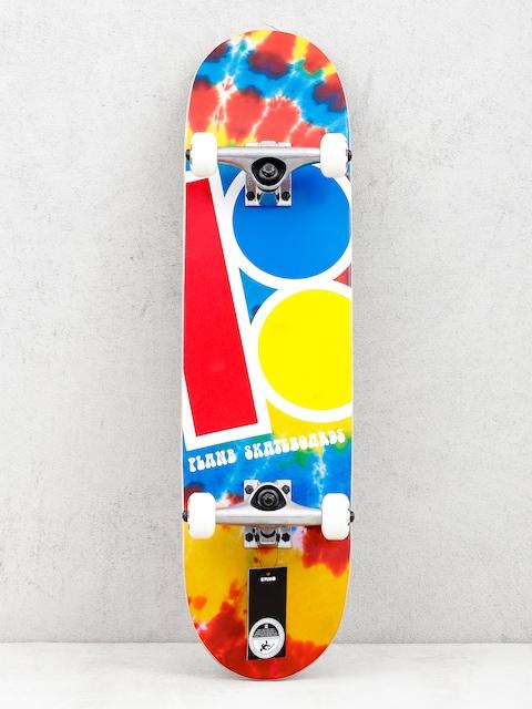 Skateboard Plan B Team Tie Dyed (multi)