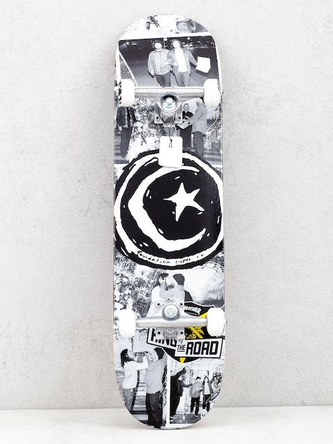 Skateboard Foundation Kotr Wedding (black/white)