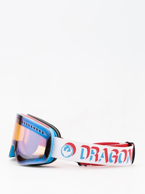 Okuliare na snowboard Dragon NFXs (verge/lumalens flash blue)