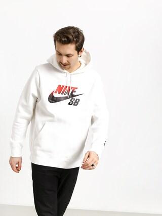 Mikina s kapucňou Nike SB Sb Icon Nba HD (white/university red)